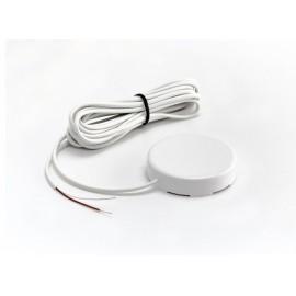 Датчик протечки воды с круглым корпусом WSР2 (кабель 3 метра)